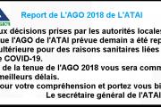 Report de L'AGO 2018 de L'ATAI