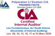 Préparation à l'Examen CIA «P1: Les Fondamentaux de l'Audit Interne»