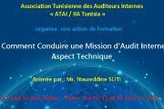 Comment Conduire une Mission d'Audit Interne : Aspect Technique